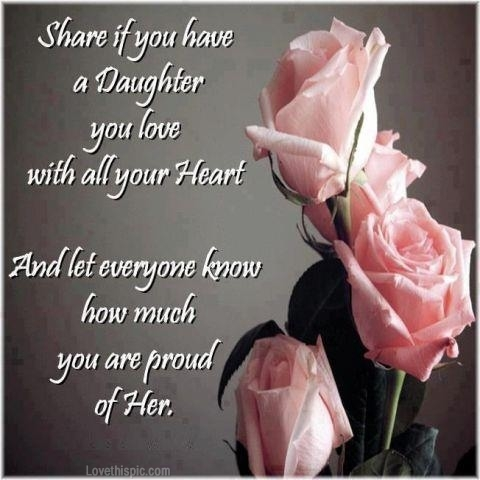 Love My Daughter Quotes