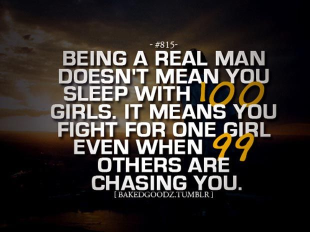 Be a Man Quotes