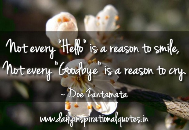 Touching Farewell Sayings
