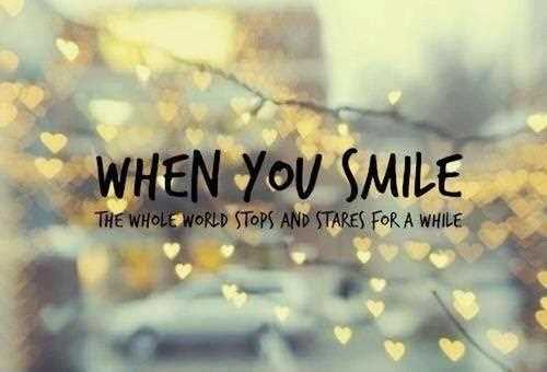 Smile Quotes for Facebook