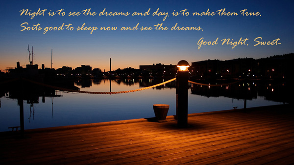 Good Night Quotes with Pics