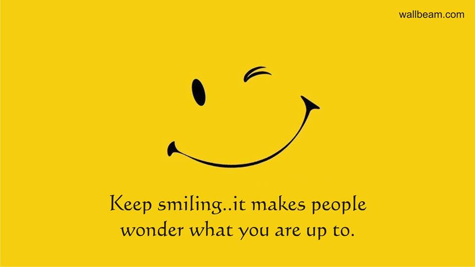 Sayings about Smile