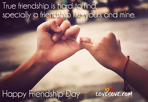 Friendship Day Sayings & Pictures