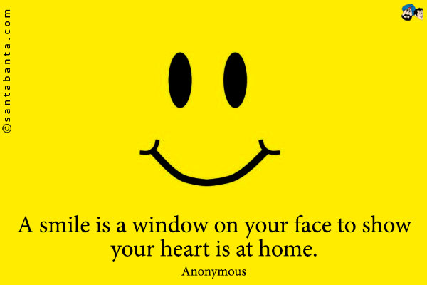 Smile Quotes & Pictures