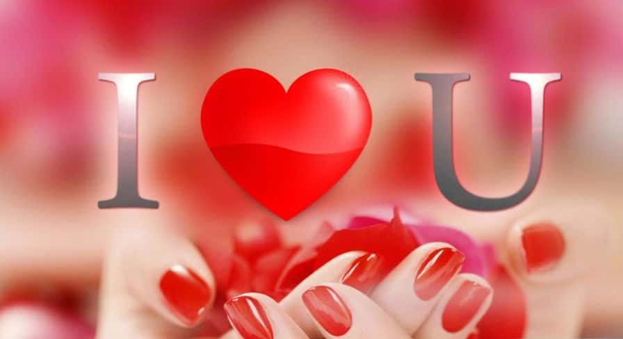 HD I Love You Image for Whatsapp and Facebook