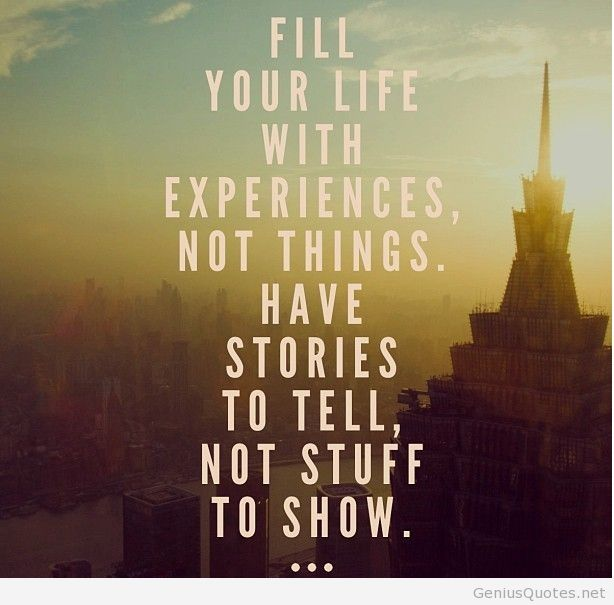 Quotes about Experience