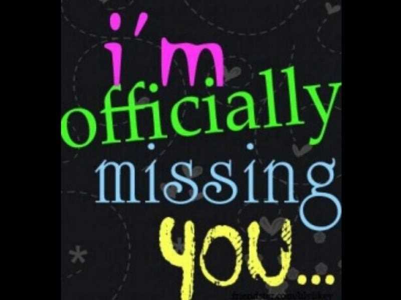 25+ Missing You Quotes & Sayings