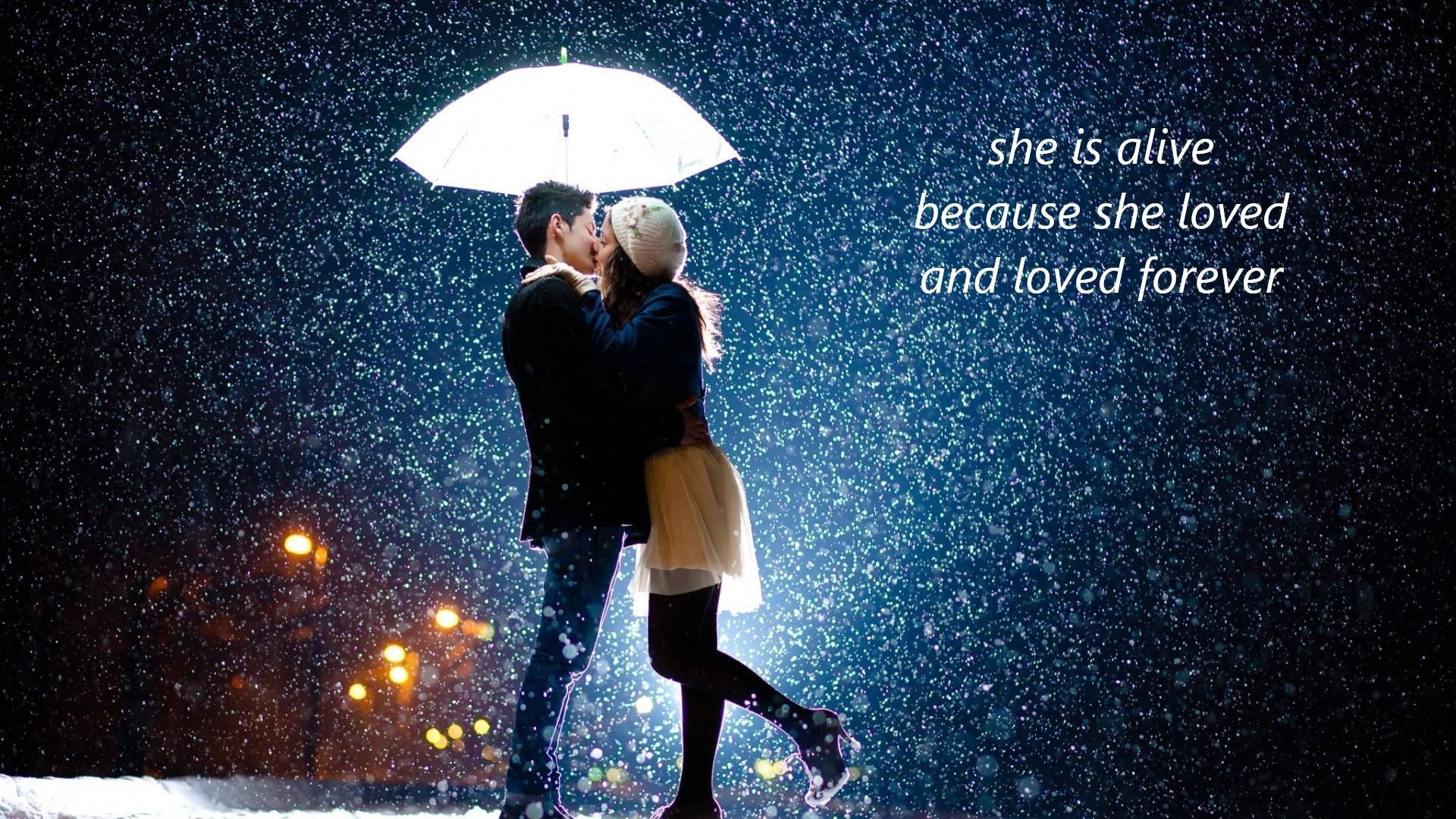 images of love couples in rain with quotes