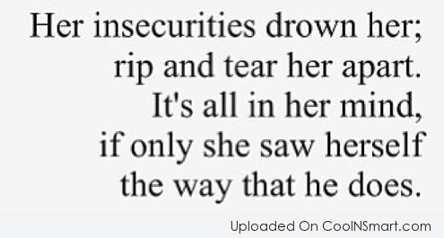 25 Insecurity Quotes Sayings