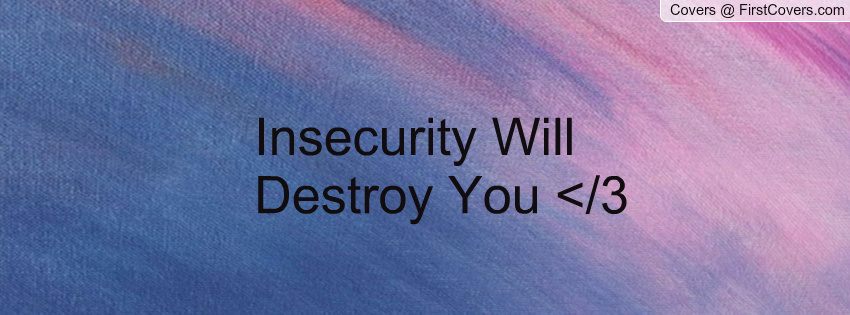 Insecurity Sayings